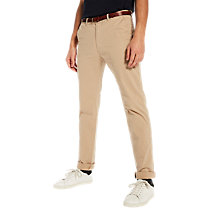 Buy Scotch & Soda Stuart Slim Fit Chinos, Sand Online at johnlewis.com