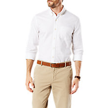 Buy Dockers Stretch Long Sleeve Oxford Shirt Online at johnlewis.com