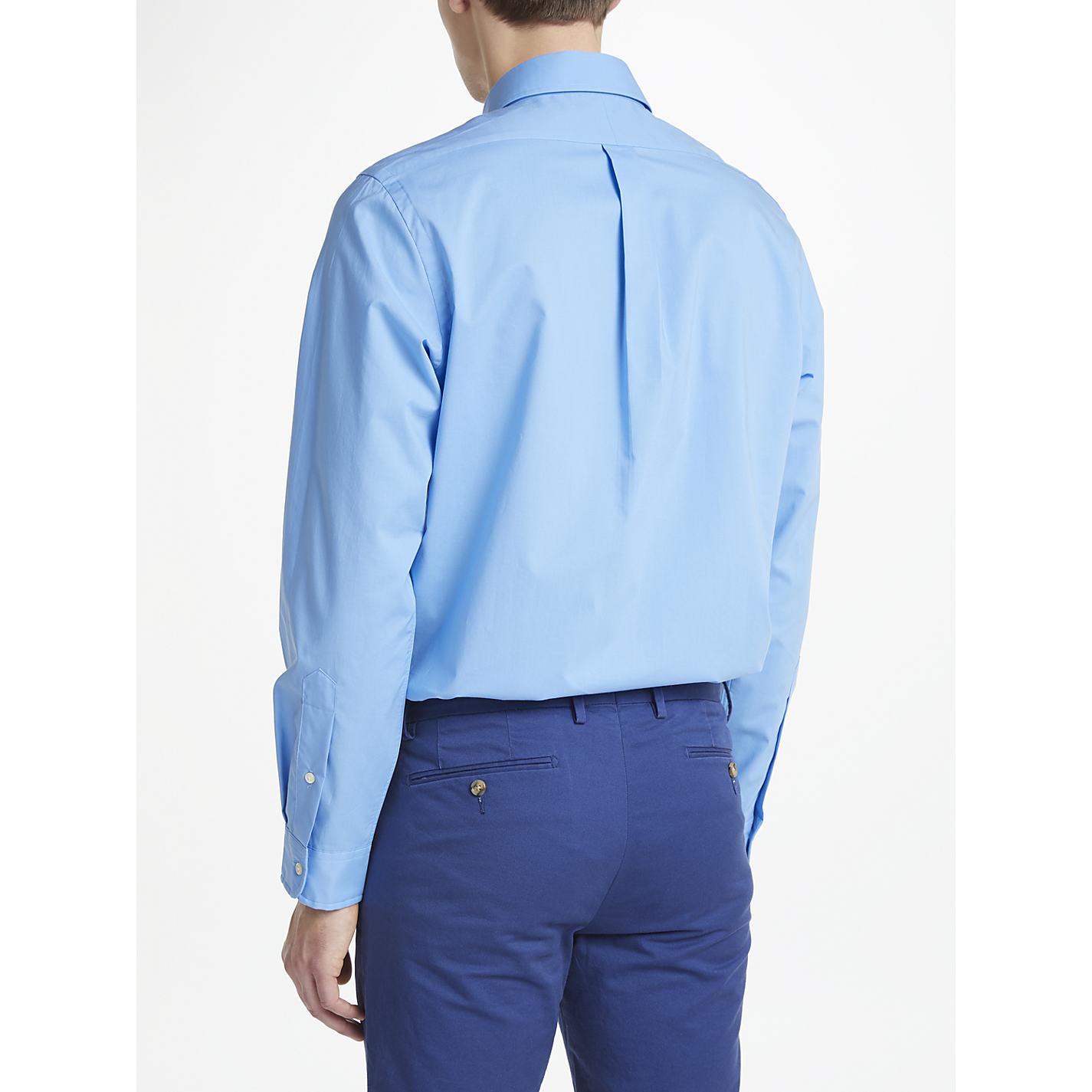 Buy Polo Ralph Lauren Slim Cotton Poplin Shirt John Lewis # Muebles Ralph Lauren Espana