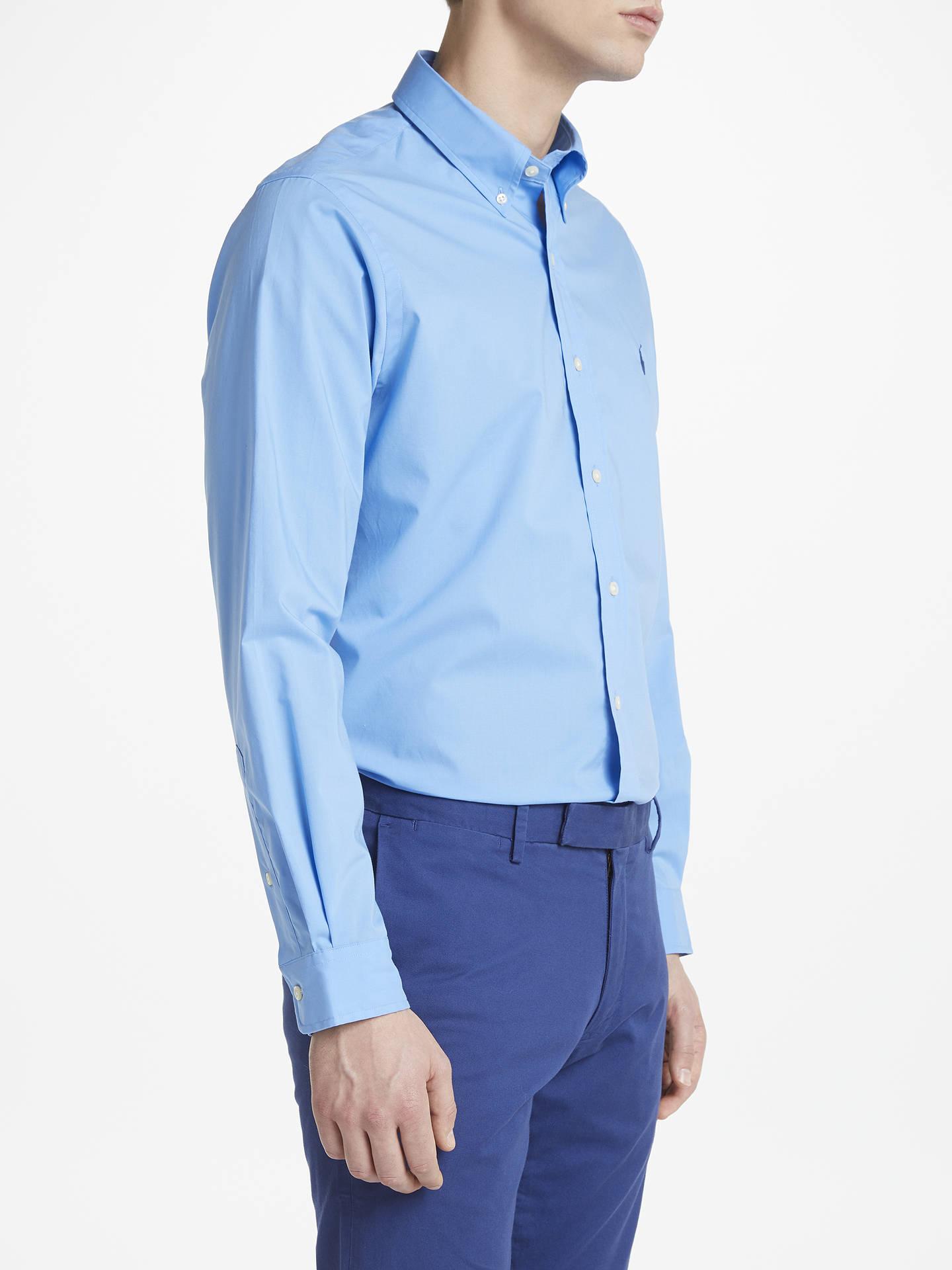 cf02e8a8b9aab Polo Ralph Lauren Slim Cotton Poplin Shirt at John Lewis   Partners