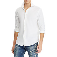 Buy Polo Ralph Lauren Textured Long Sleeve Shirt Online at johnlewis.com