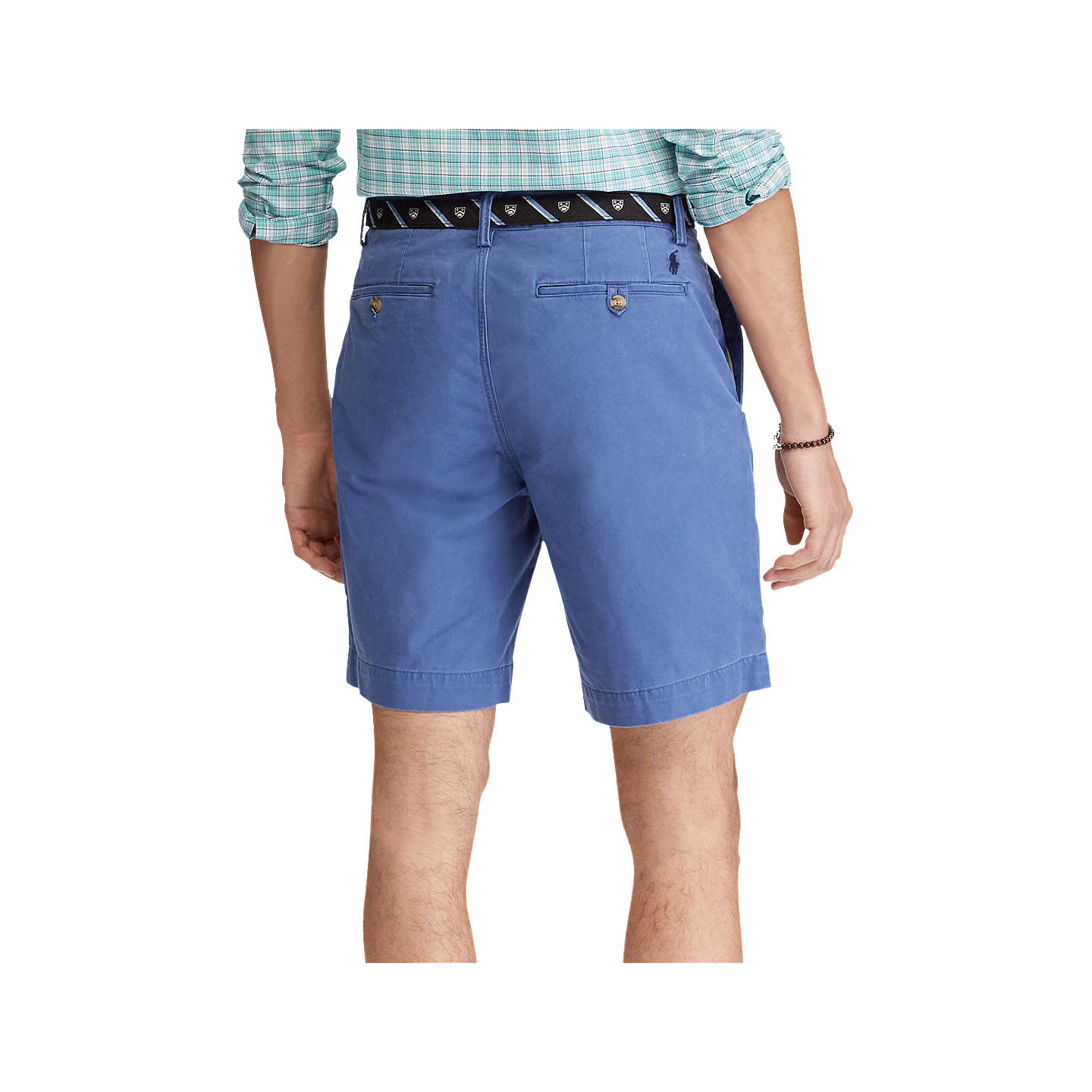 BuyPolo Ralph Lauren Bedford Shorts, Haven Blue, 32R Online at johnlewis.com