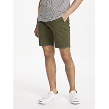 Buy Scotch & Soda Cotton Twill Shorts, Army Online at johnlewis.com