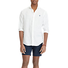 Buy Polo Ralph Lauren Estate Long Sleeve Linen Shirt Online at johnlewis.com