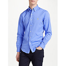 Buy Polo Ralph Lauren Cotton Poplin Shirt Online at johnlewis.com
