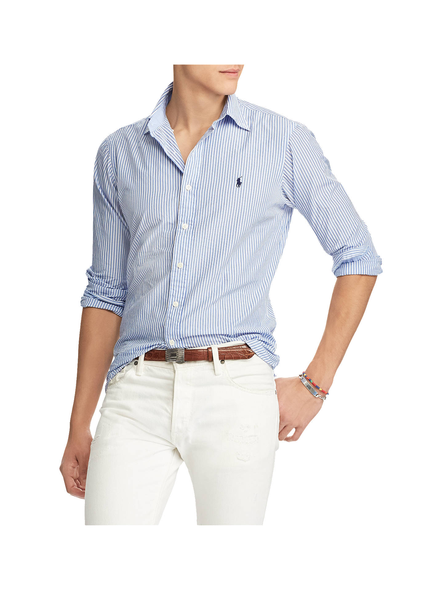 905ff137b43c Buy Polo Ralph Lauren Stripe Cotton Poplin Shirt