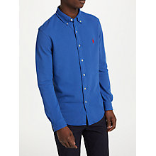 Buy Polo Ralph Lauren Long Sleeve Mesh Shirt Online at johnlewis.com