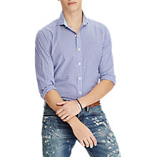 Buy Polo Ralph Lauren Check Poplin Custom Shirt Online at johnlewis.com
