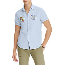 Buy Polo Ralph Lauren Short Sleeve Hawaiian Print Shirt, Hawaiian Tigers Online at johnlewis.com