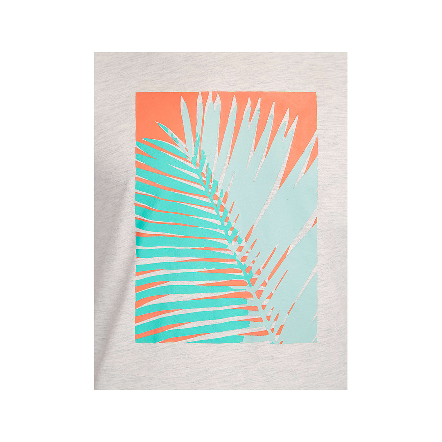 BuyHYMN Penzance Tropical Graphic T-Shirt, Off White, S Online at johnlewis.com