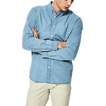 Buy Selected Homme Onenolan Shirt, Light Blue Online at johnlewis.com