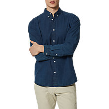Buy Selected Homme Onenolan Shirt, Dark Blue Online at johnlewis.com