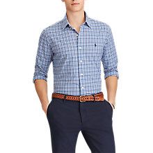 Buy Polo Ralph Lauren Button Down Check Poplin Shirt Online at johnlewis.com