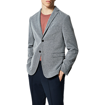 Selected Homme Done-nage Blazer, Medium Blue Melange