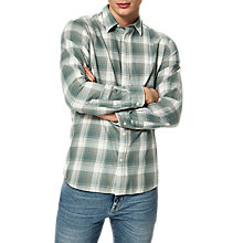 Buy Selected Homme Frankie Check Shirt, Laurel Wreath Online at johnlewis.com