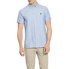 Buy Lyle & Scott Short Sleeve Oxford Shirt, Riviera Online at johnlewis.com