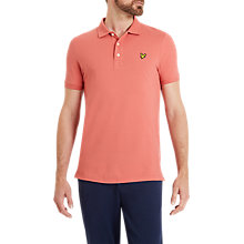 Buy Lyle & Scott Plain Pique Polo Shirt Online at johnlewis.com