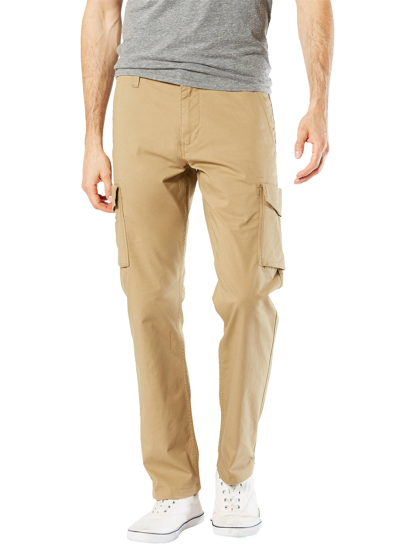 Dockers Alpha Skinny Stretch Cargo Trousers At John Lewis Partners