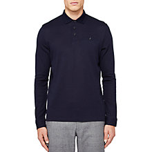 Buy Ted Baker Scooby Long Sleeve Polo Shirt Online at johnlewis.com