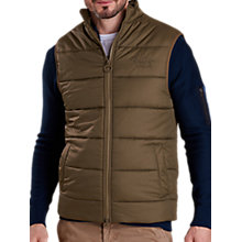 Buy Barbour Land Rover Defender Baffle Gilet, Olive Online at johnlewis.com