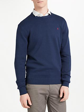 Hackett London Cotton Crew Neck Jumper