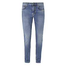 Buy J.Lindeberg Damen Skinny Jeans, Mid Blue Online at johnlewis.com
