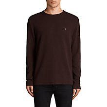 Buy AllSaints Rift Stripe Long Sleeve T-Shirt Online at johnlewis.com