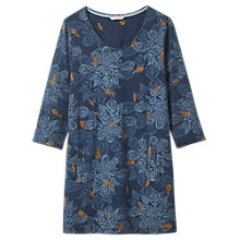 Buy White Stuff Stitchy Stitch Tunic Dress, Indigo Online at johnlewis.com