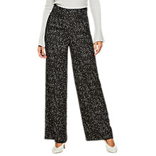 Buy Miss Selfridge Star Print Wide Leg Trousers, Assorted Online at johnlewis.com
