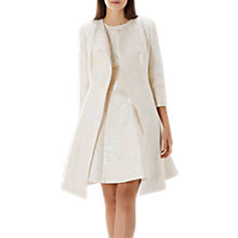 Buy Coast Tallia Jacquard Jacket, Cream Online at johnlewis.com