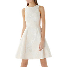 Buy Coast Tallia Jacquard Dress, Cream Online at johnlewis.com
