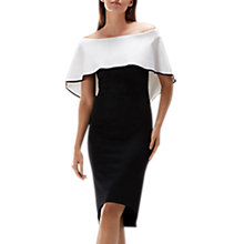 Buy Coast Zahra Bardot Shift Dress, Mono Online at johnlewis.com
