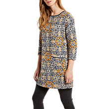 Buy White Stuff West Fourth Jersey Tunic Dress, Multi Online at johnlewis.com