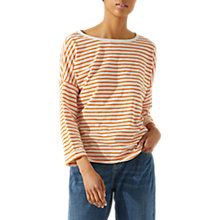 Buy Jigsaw Cotton Slub Stripe T-Shirt Online at johnlewis.com