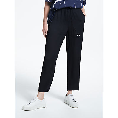 Kin by John Lewis Drawstring Trousers, Black