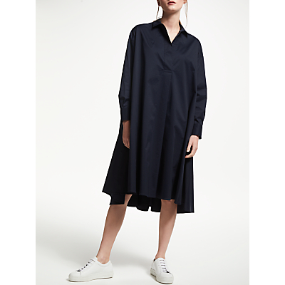 Kin by John Lewis Circle Shirt Dress, Navy