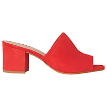 Buy Whistles Amberley Block Heel Mule Sandals Online at johnlewis.com