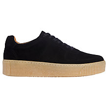 Buy Whistles Abbey Lace Up Trainers Online at johnlewis.com