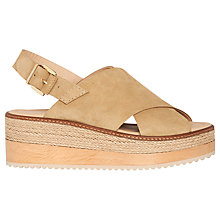 Buy Whistles Rafi Flatform Sandals Online at johnlewis.com