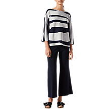 Buy Jigsaw Letter Stripe Jumper Online at johnlewis.com
