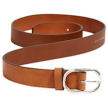 Buy Jigsaw Beth Leather Oval Belt Online at johnlewis.com