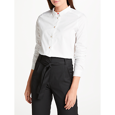 Numph Allena Shirt, Bright White