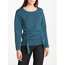 Buy Numph Alerie Sweatshirt, Majolica Blue Online at johnlewis.com