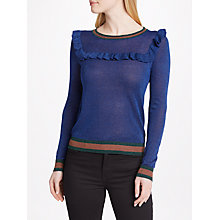 Buy SUNCOO Pascal Jumper, Blue Klein Online at johnlewis.com