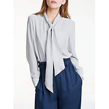 Buy Y.A.S Fie Long Sleeve Blouse, White Online at johnlewis.com