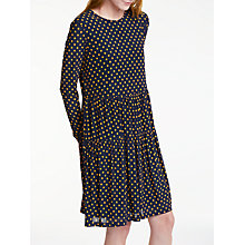 Buy Y.A.S Spot Dress, Blue/Yellow Online at johnlewis.com