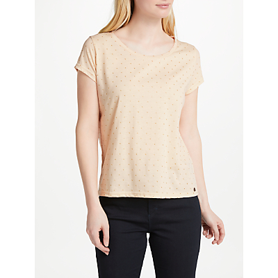 Numph New Gry T-Shirt, Pastel Rose Tan