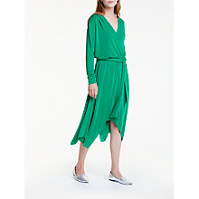 Buy Y.A.S Mona Lisa Long Sleeve Dress, Green Online at johnlewis.com