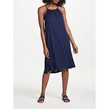 Buy John Lewis Midi Jersey Sundress, Navy Online at johnlewis.com