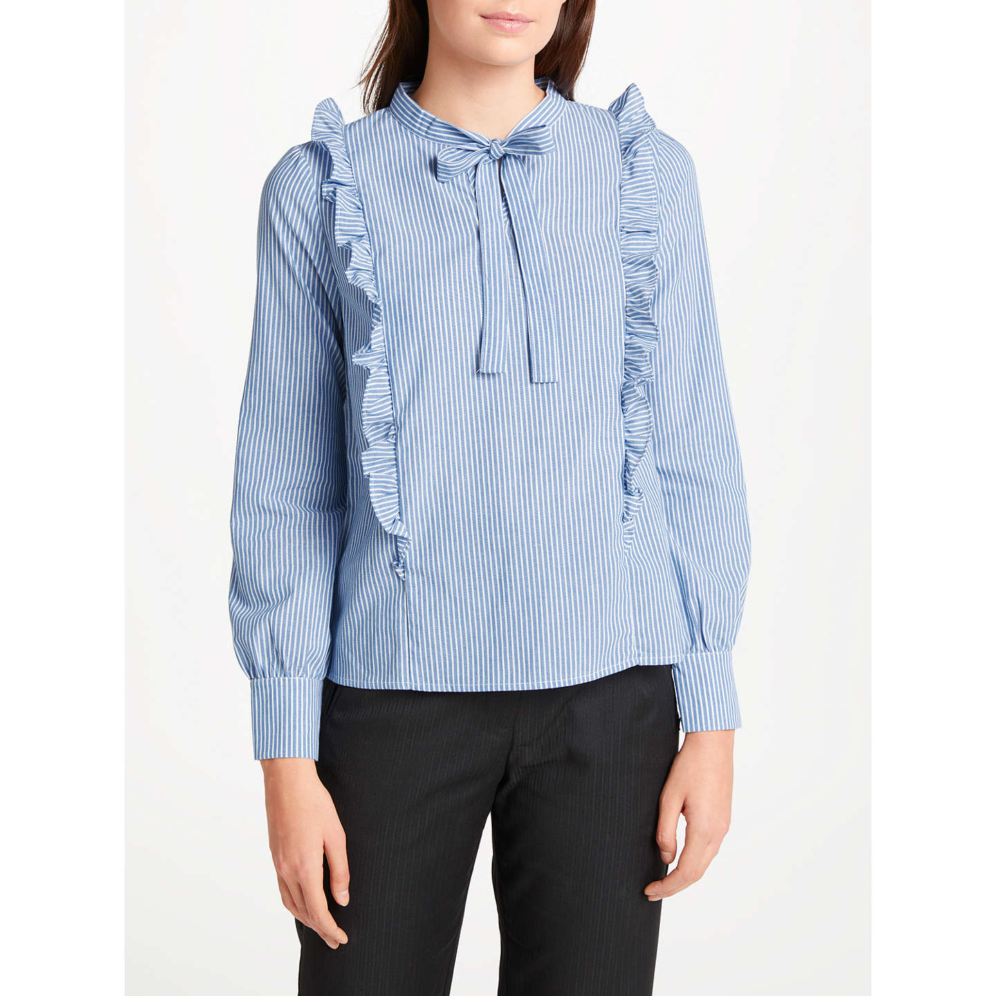 BuyNumph Arzilla Blouse, Baby Blue, 8 Online at johnlewis.com ...